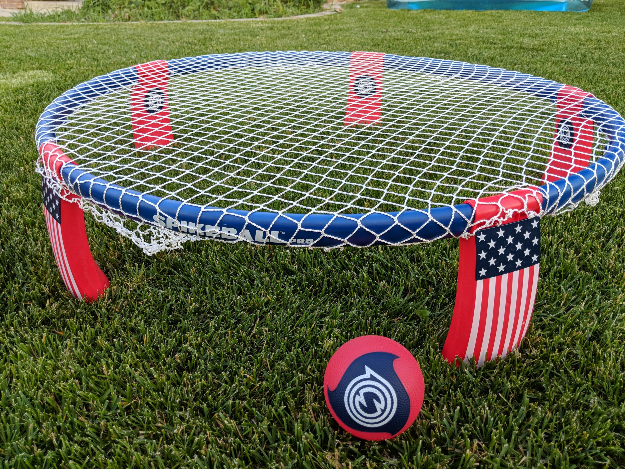 What is Roundnet? - Roundnet is the sport popularized by Spikeball™. You may have heard of it referred to as Spikeball™, but that is merely the brand who makes the product on which roundnet is played! Check out their information at Spikeball.com!