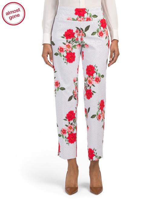 I love me some flowery pants! -