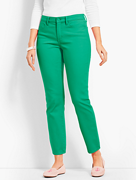 But I wanted some green and pink jeans and they had theright shades. -