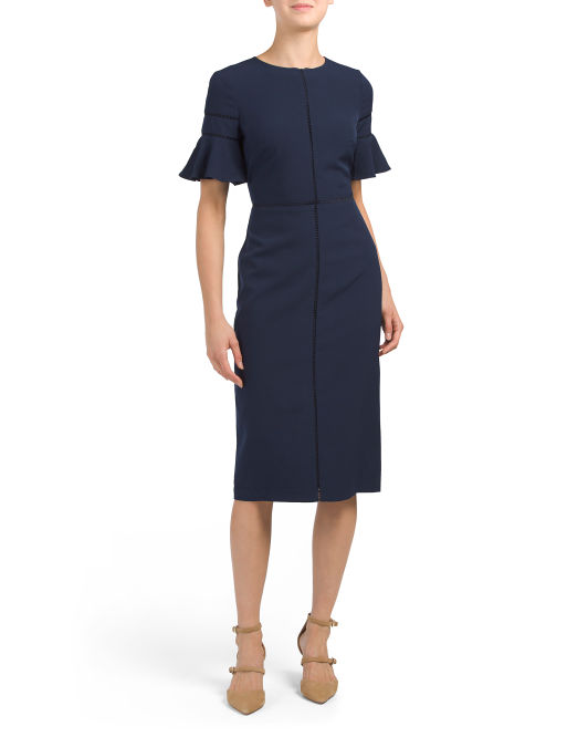 This one is a great deal and just a good one to have in the closet. It's so cheap, that I wonder how the quality will be, but I have worn Maggy London before so we will see. It's a good basic and one that you can dress up or down or wear to a funeral and every girl needs a funeral dress.