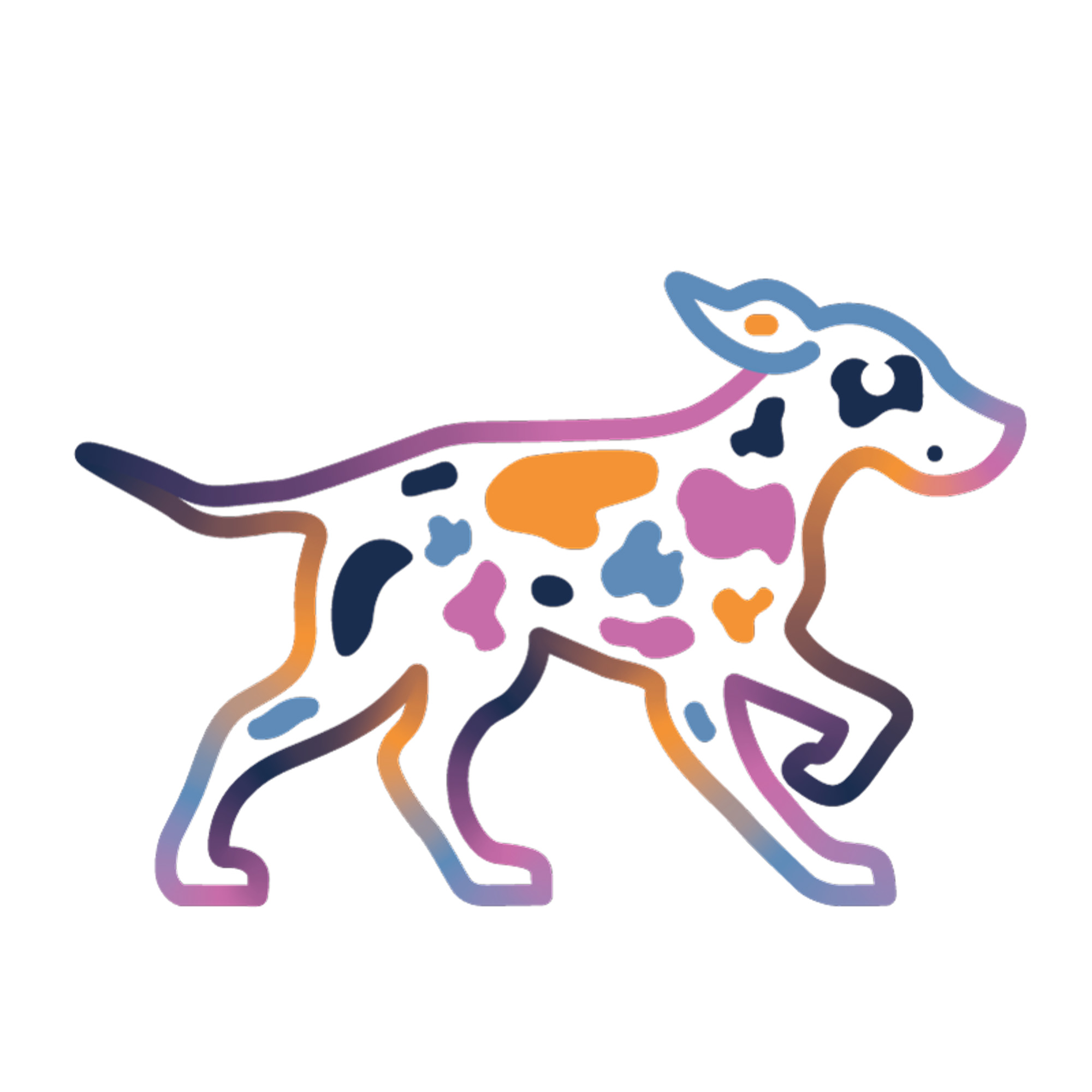 See Spot Run Dog Walking and Pet Sitting Dog Logo.JPG
