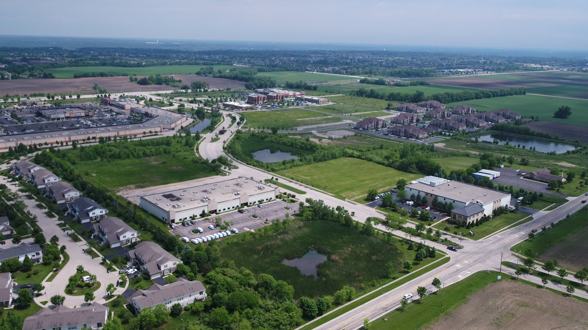 ALGONQUIN CORPORATE CAMPUS - This growing development opportunity has great access to Algonquin's amenities thanks to its location on Randall Road and Longmeadow Parkway and is close to Chicago O'Hare International Airport, close to I-90 and close to home.