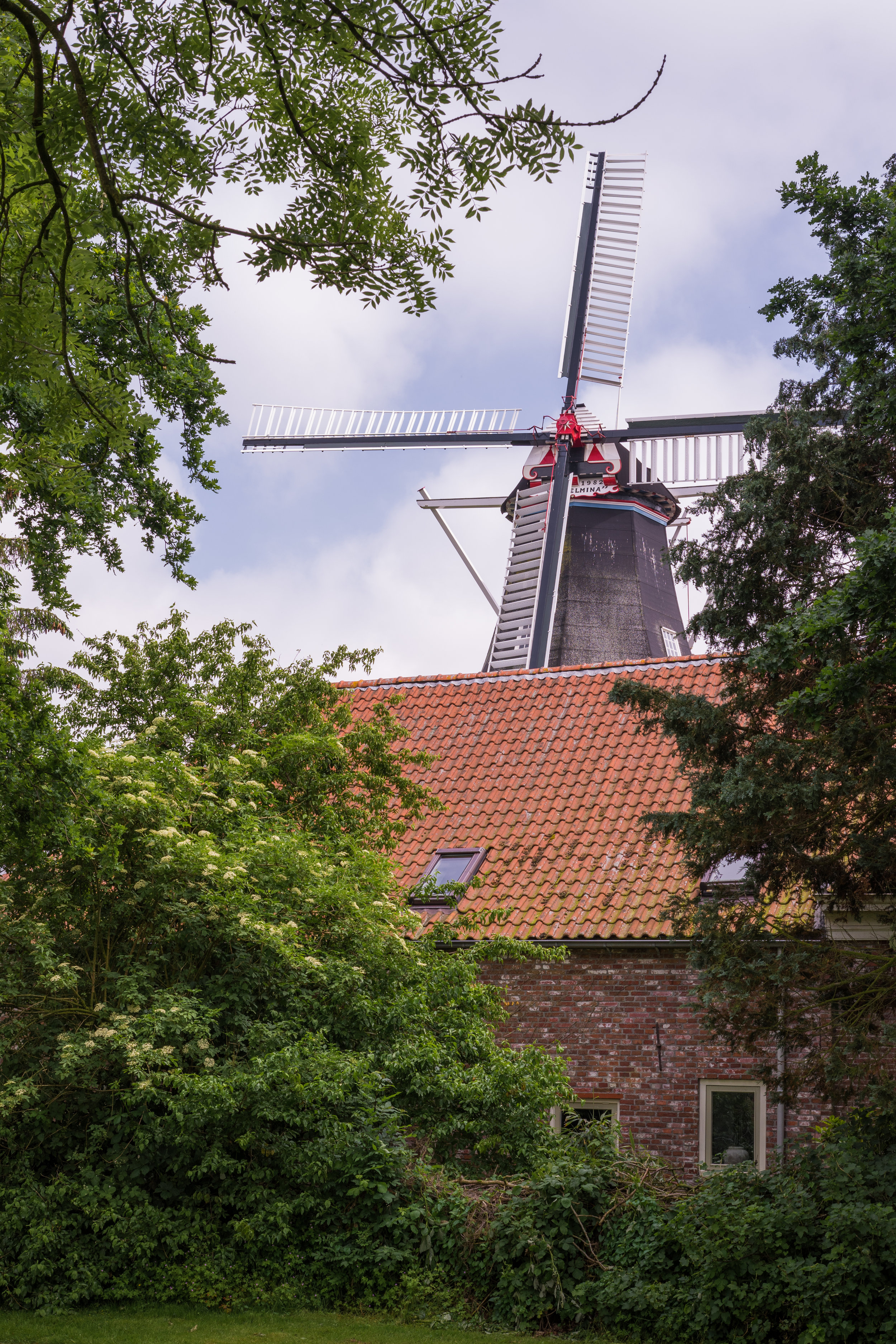 Korenmolen Wilhelmina, Groningen