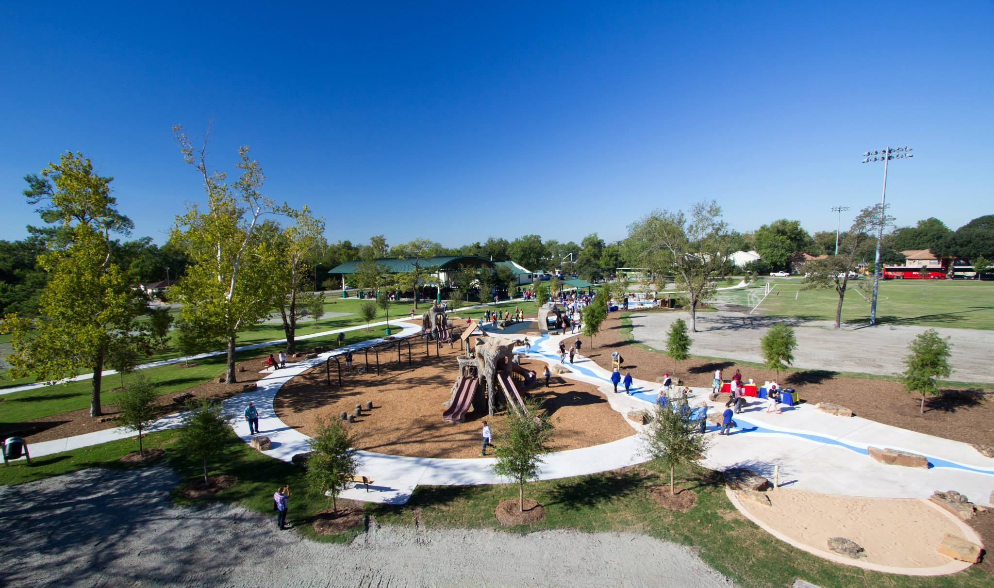 - Mayor Annise Parker states, 'Parks in neighborhoods can be absolutely transformative. It's about children who can play, it's about adults who can get out and exercise, and it's about families doing things together.'