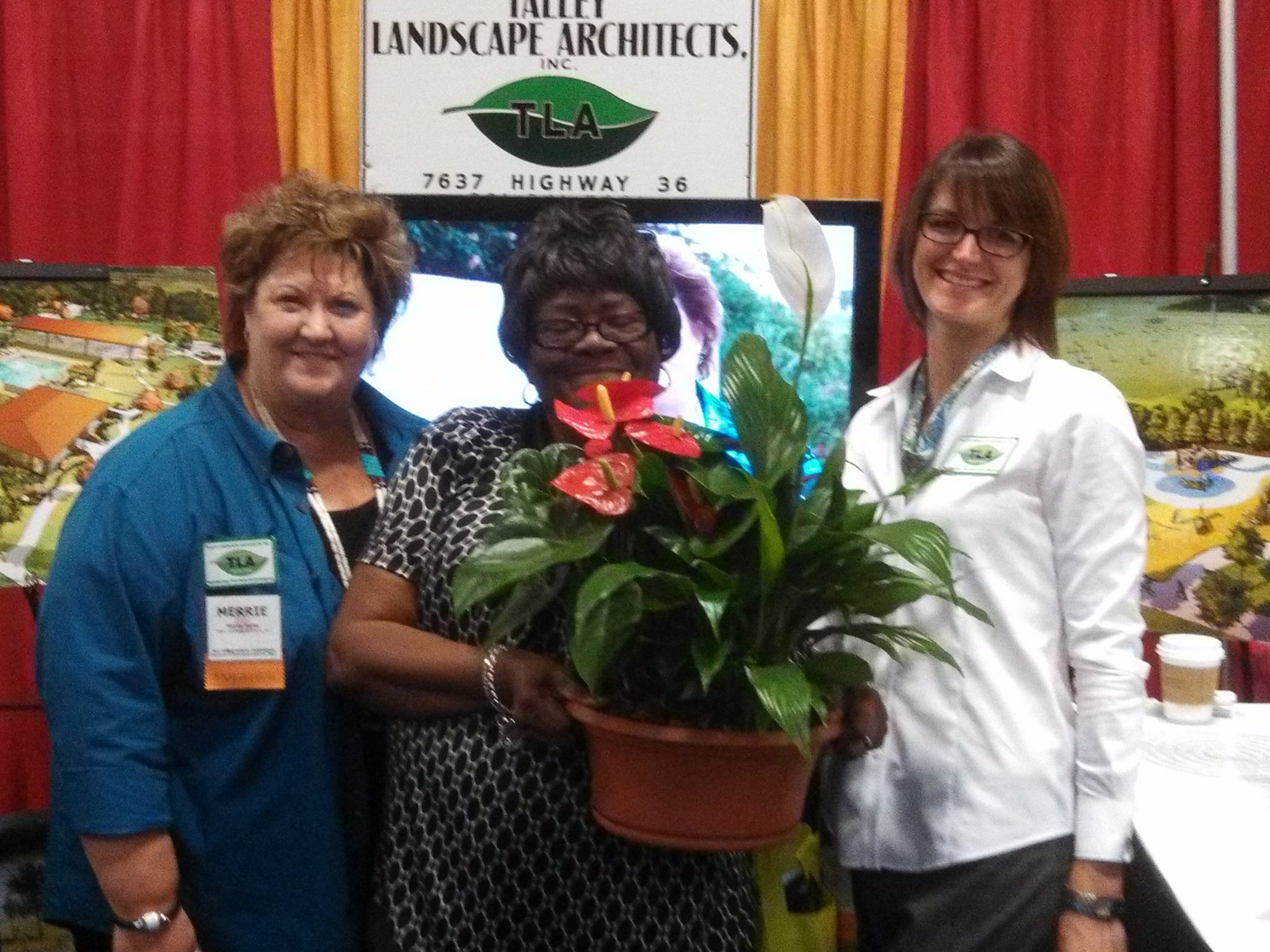 - Talley Landscape Architects, Inc. had a successful 2014 Association of Water Board Directors Conference in Fort Worth, Texas. Glad to see many familiar faces and two lucky winners went home with beautiful plants.