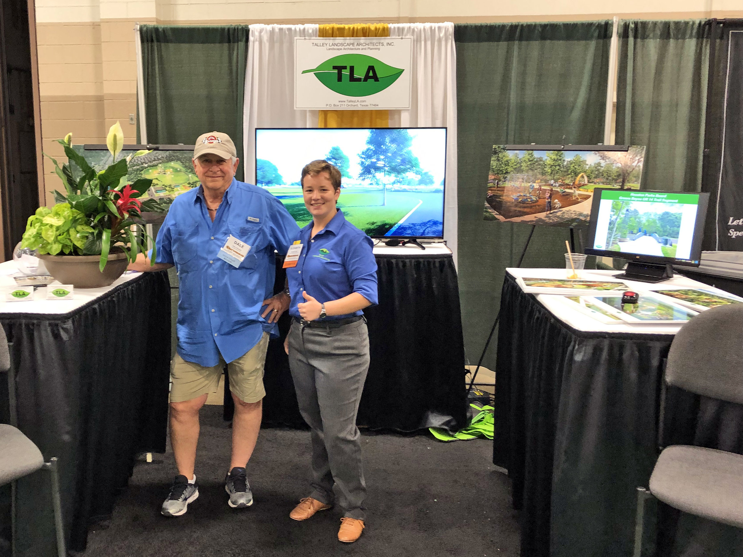 - Talley Landscape Architects, Inc. had a successful 2019 Association of Water Board Directors Conference in Fort Worth, Texas. We were glad to see many familiar faces and several lucky winners went home with beautiful floral arrangements.
