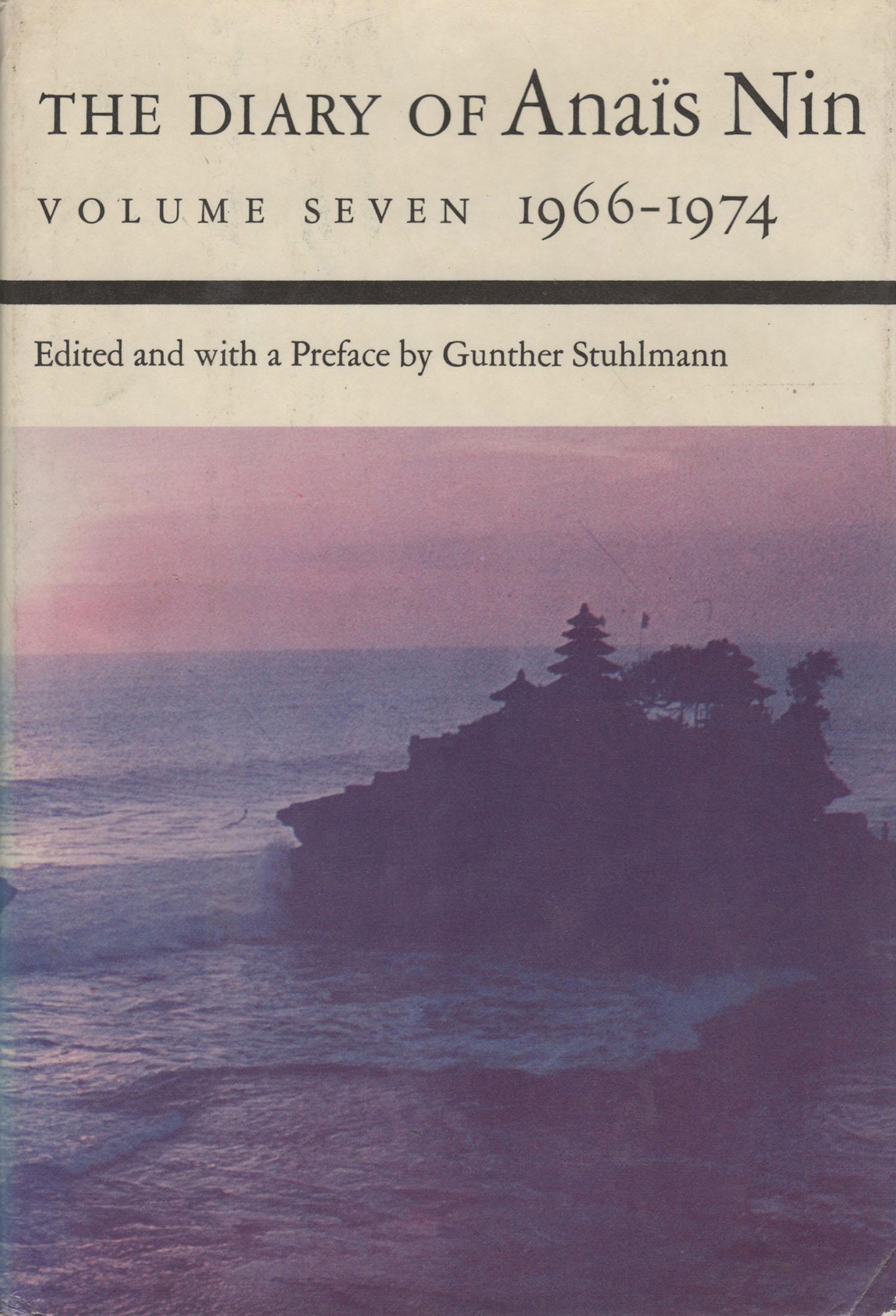 The Diary of Anais Nin Volume Seven