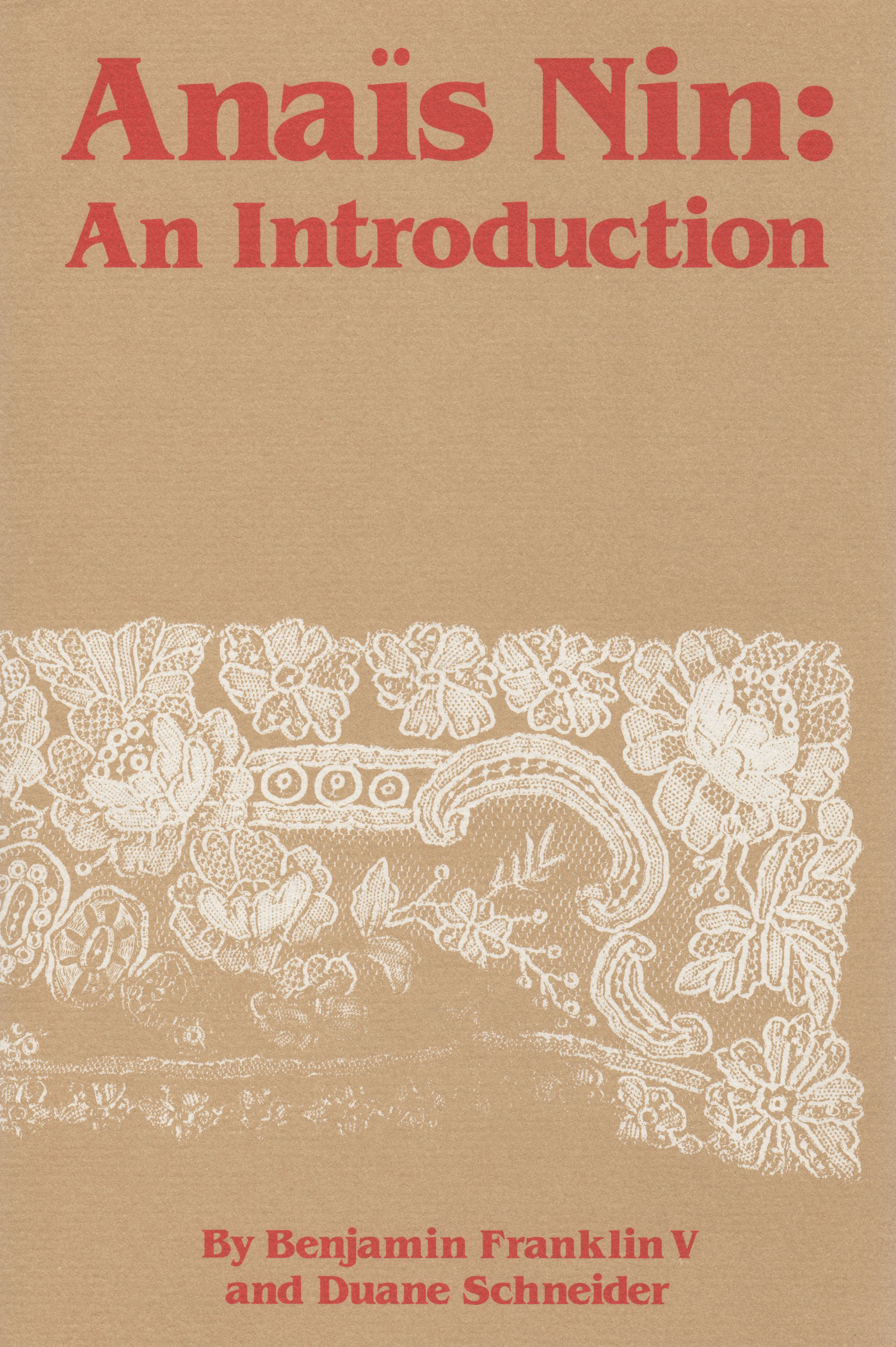 Anais Nin: An Introduction