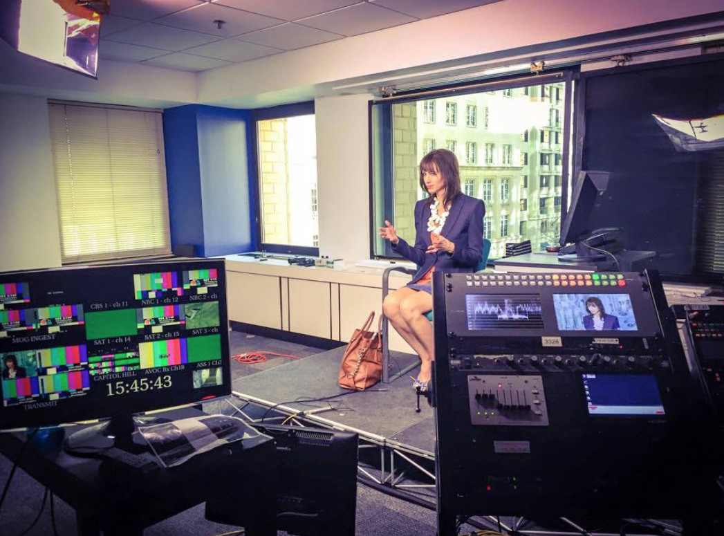 On the Canadian Broadcasting Corporation's CBC News, talking social media and American politicians.