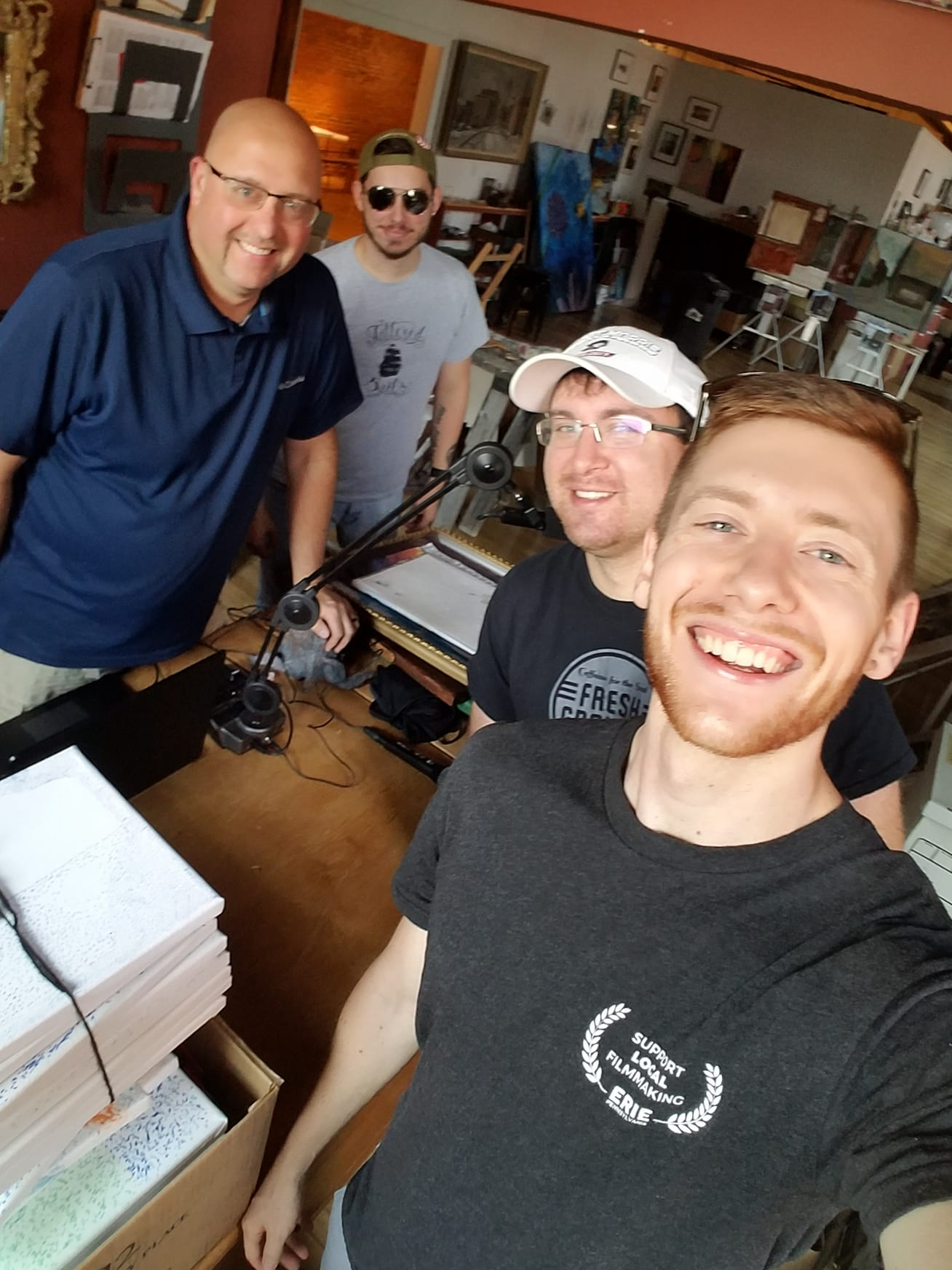 We were invited by Craig Fenton of 92.7FM or 940AM WGRP to do a radio spot! He then offered us to join him at the station's broadcast booth during Greenville's Heritage Days! We had a blast!