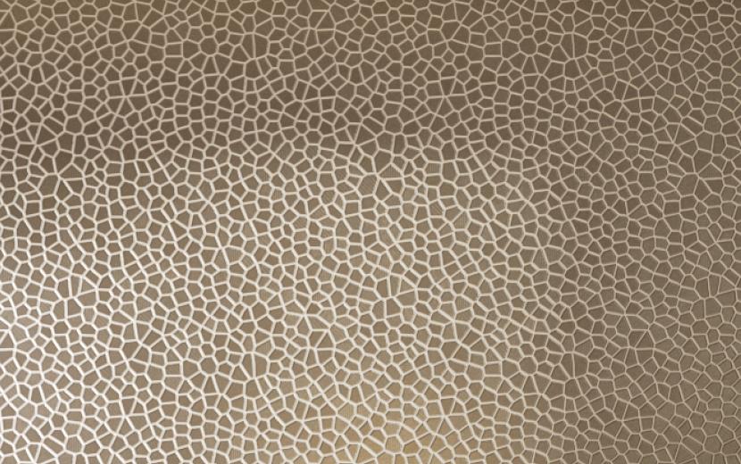 ANN SACKS® RYTHME MOSAICS  Rythme Mosaics, shown in Cobble, mimics the subtle mosaic pattern of the team's away kit.   LEARN MORE