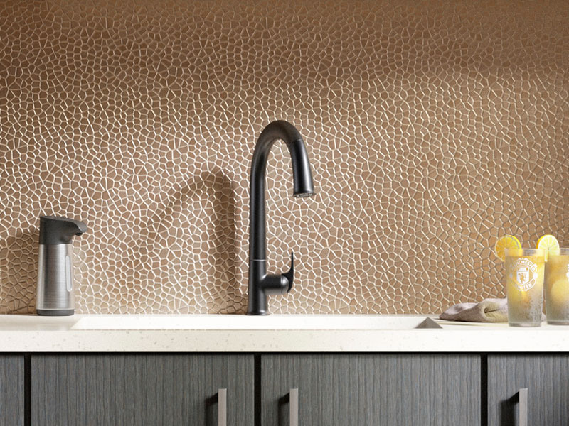SENSATE® PULL-DOWN FAUCET  Kick off your kitchen tasks with Sensate faucet's intuitive Response® technology.   LEARN MORE