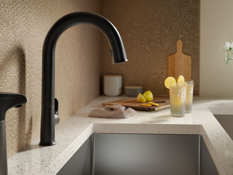 STRIVE® UNDER-MOUNT SINGLE-BOWL SINK   Score some extra time by wrapping up chores quickly with the Strive sink.   LEARN MORE
