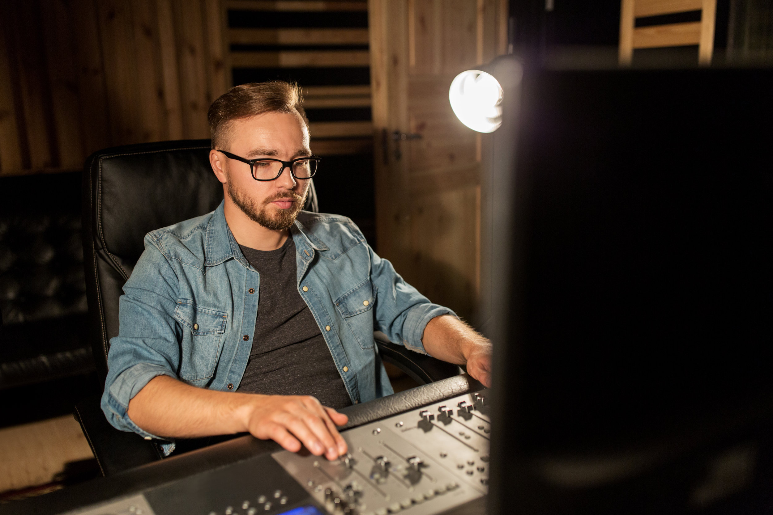 Music engineering is one example of how creative skills can be put to use in the sector.