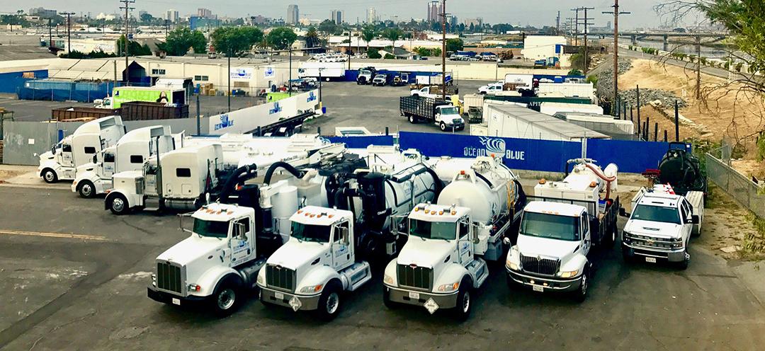 Our fleet of Vacuum trucks