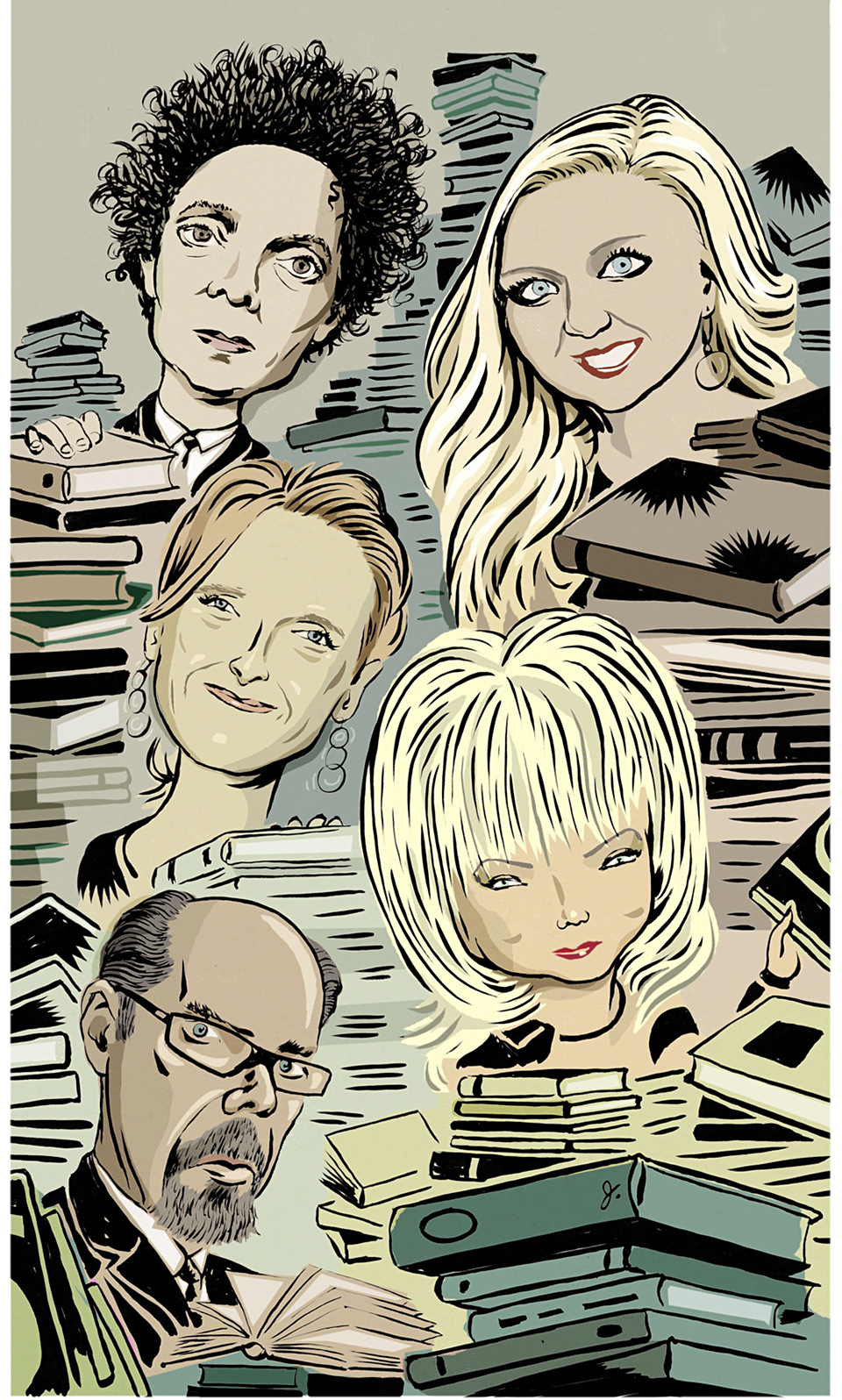 Various writers for The Wall Street Journal.
