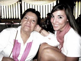 My grandma and I.