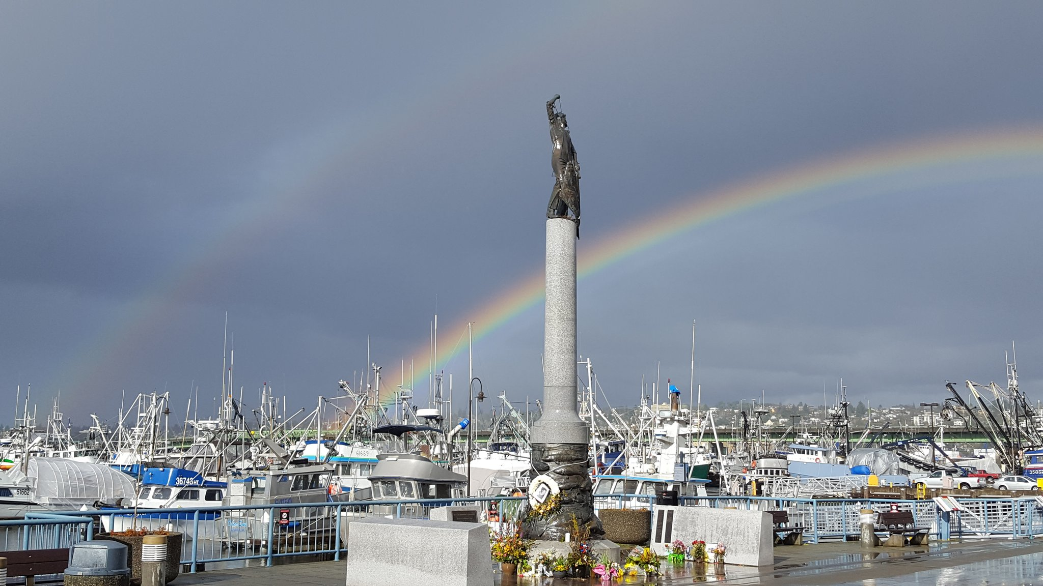 Seattle Home Port - Fishermen's Memorial