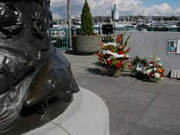 Fishermen's Memorial Wall - Honors the names of the nearly 700 Seattle Home Port Fishermen lost at sea