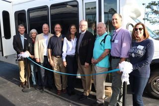 Dial-a-Ride reveals newest bus… -