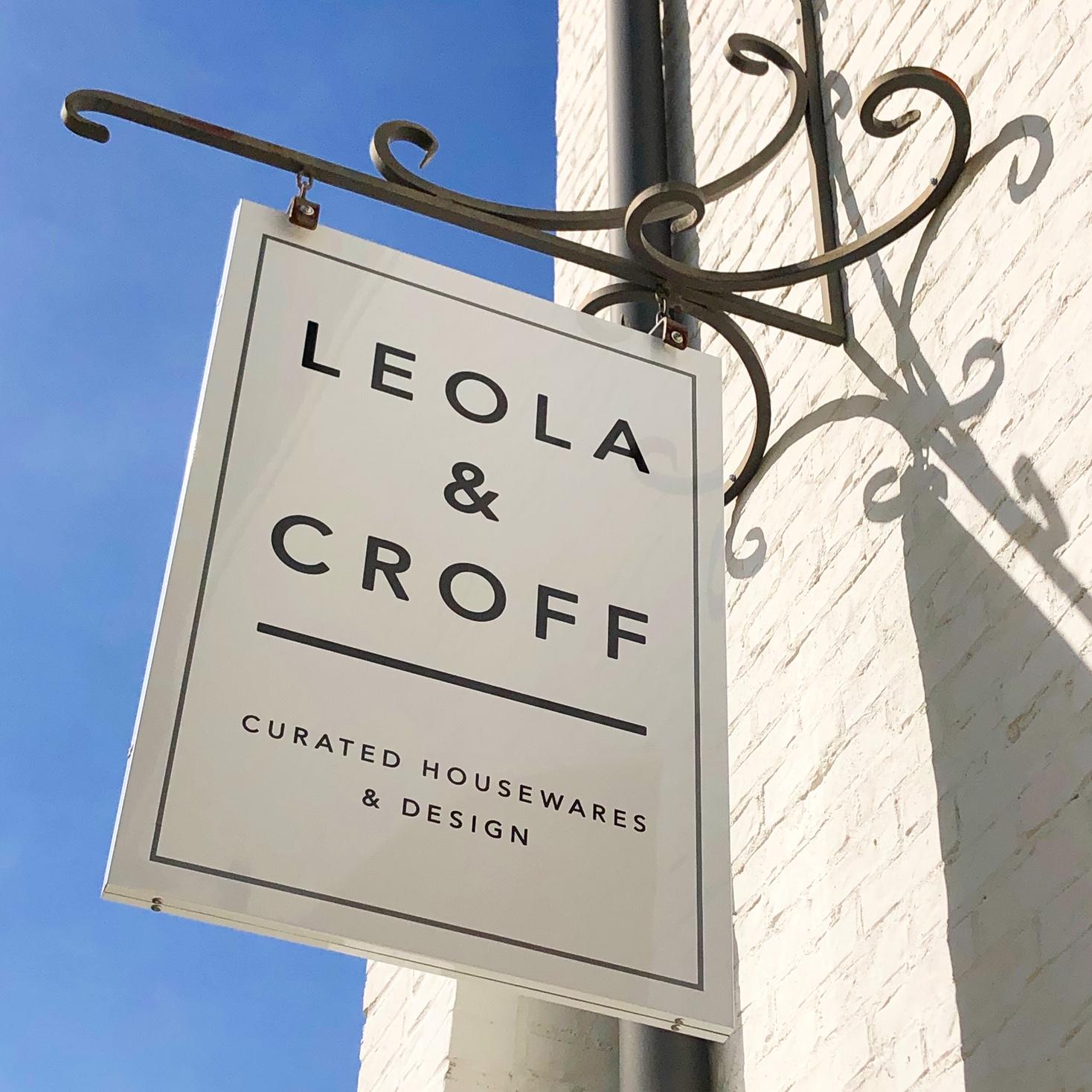 Leola&Croff Sign.JPG