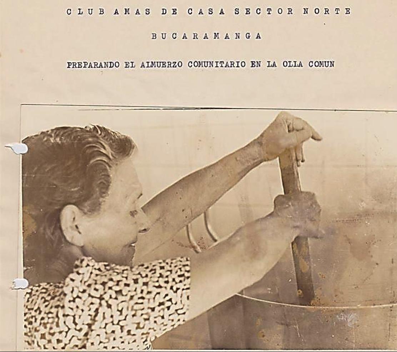"Gabriela Rojas stirs the ""Common Pot""."