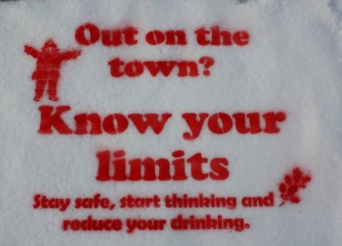 Snow Stencils Police