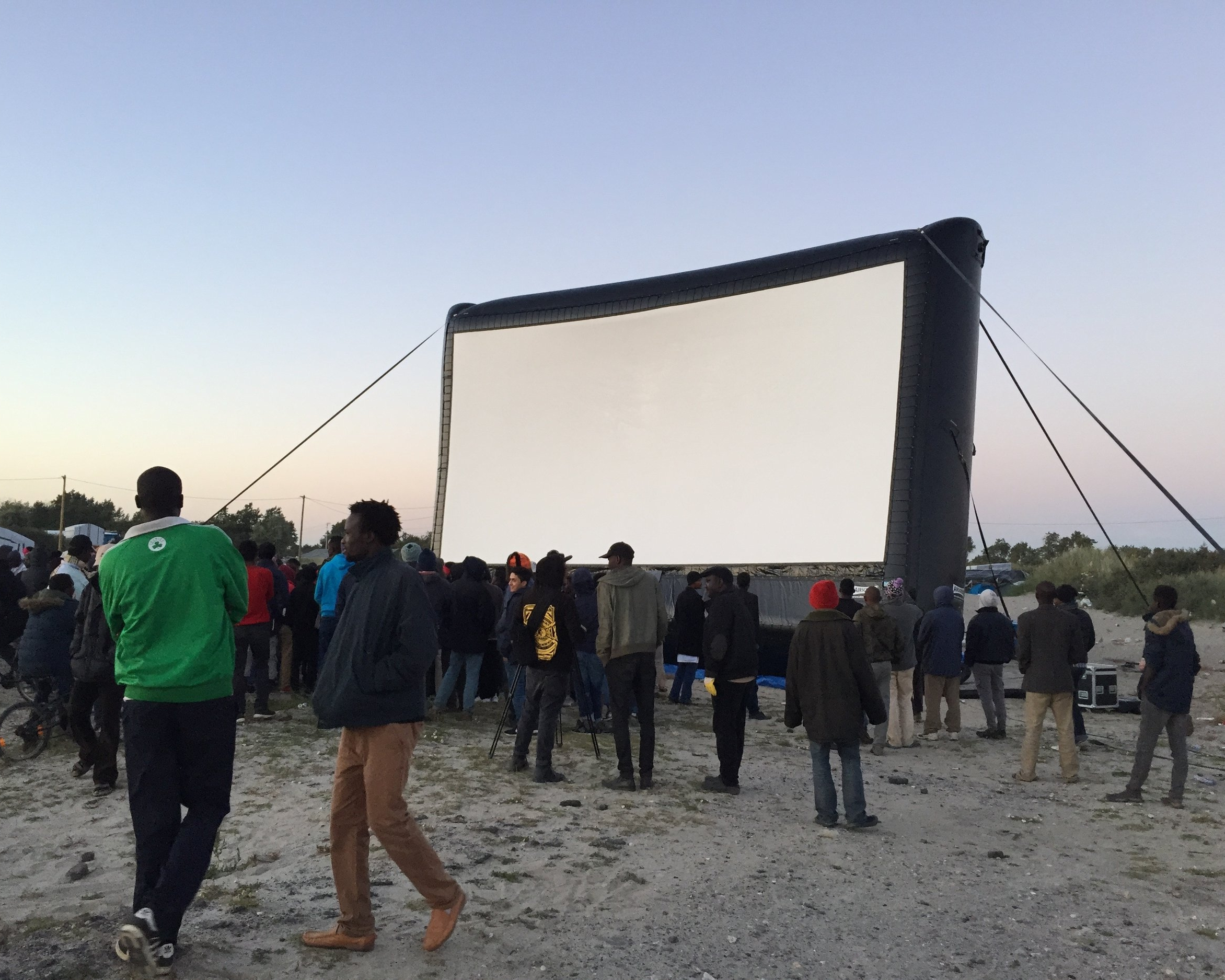 Pop up cinema -