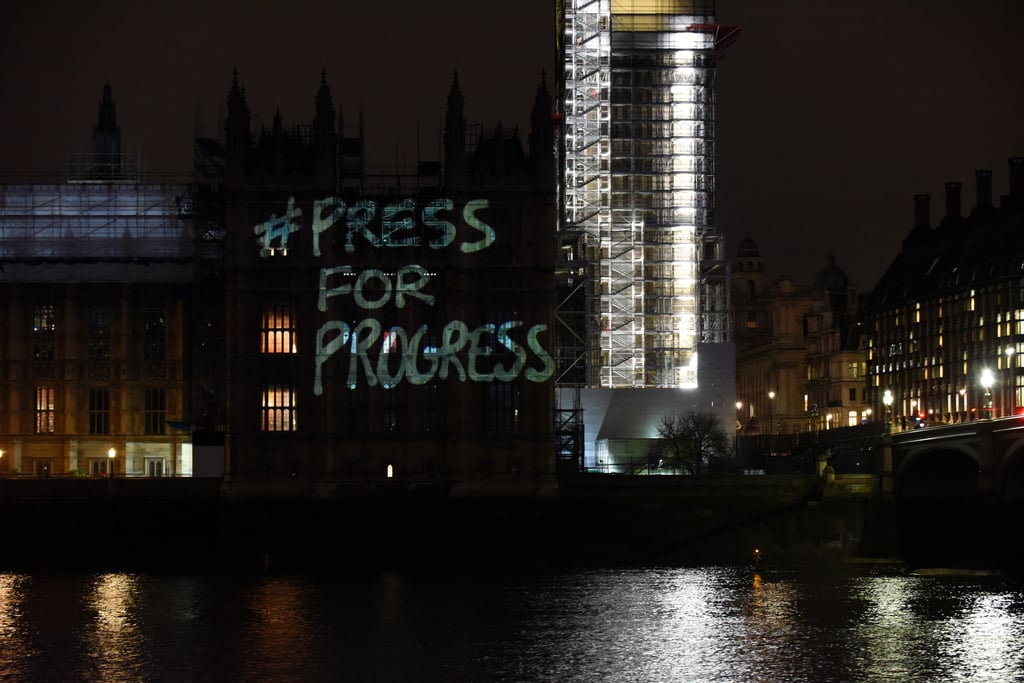 Protest Projections