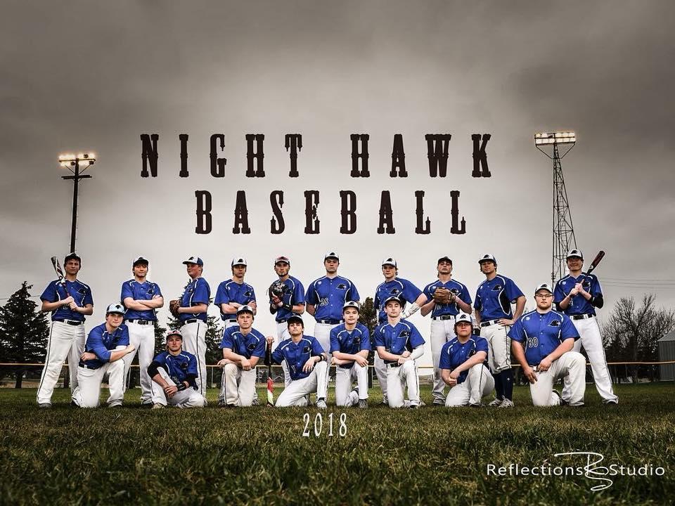 2018 Nighthawk Baseball Team