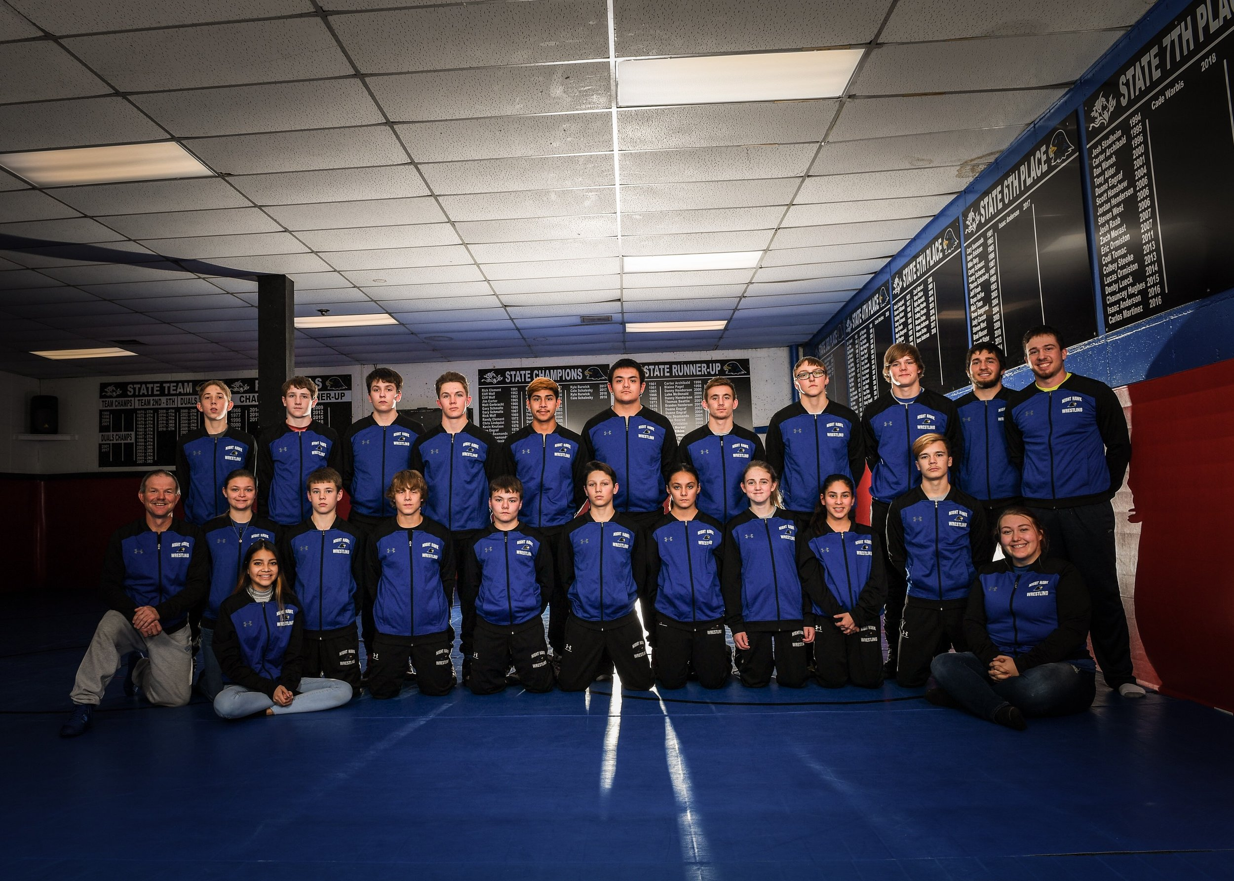 2018-2019 Wrestling Team