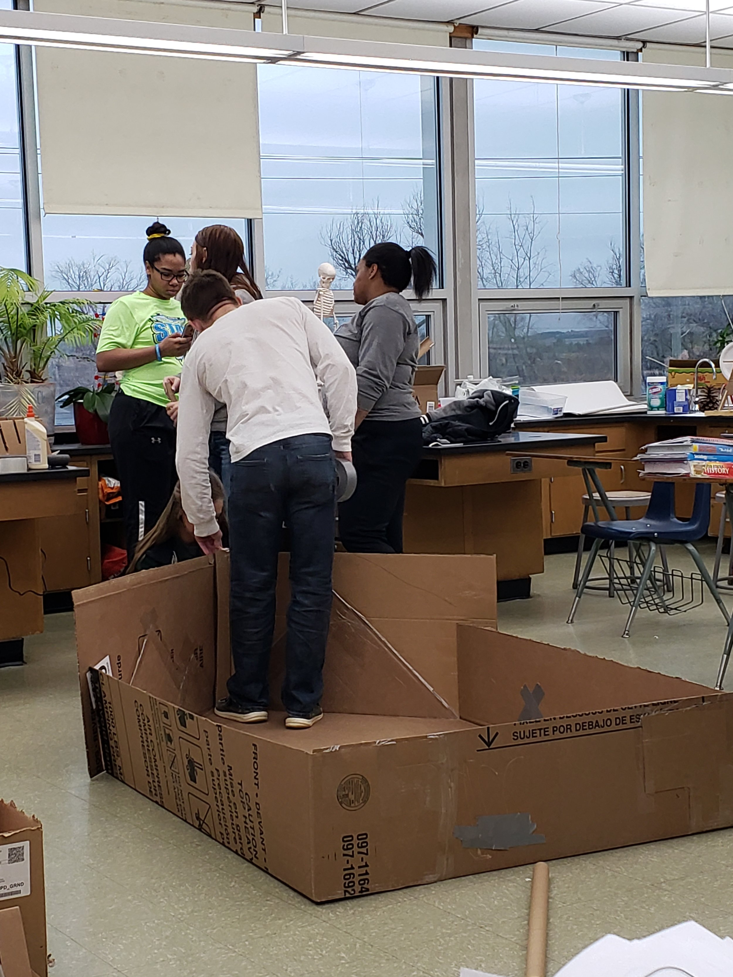 Physics Boat Building
