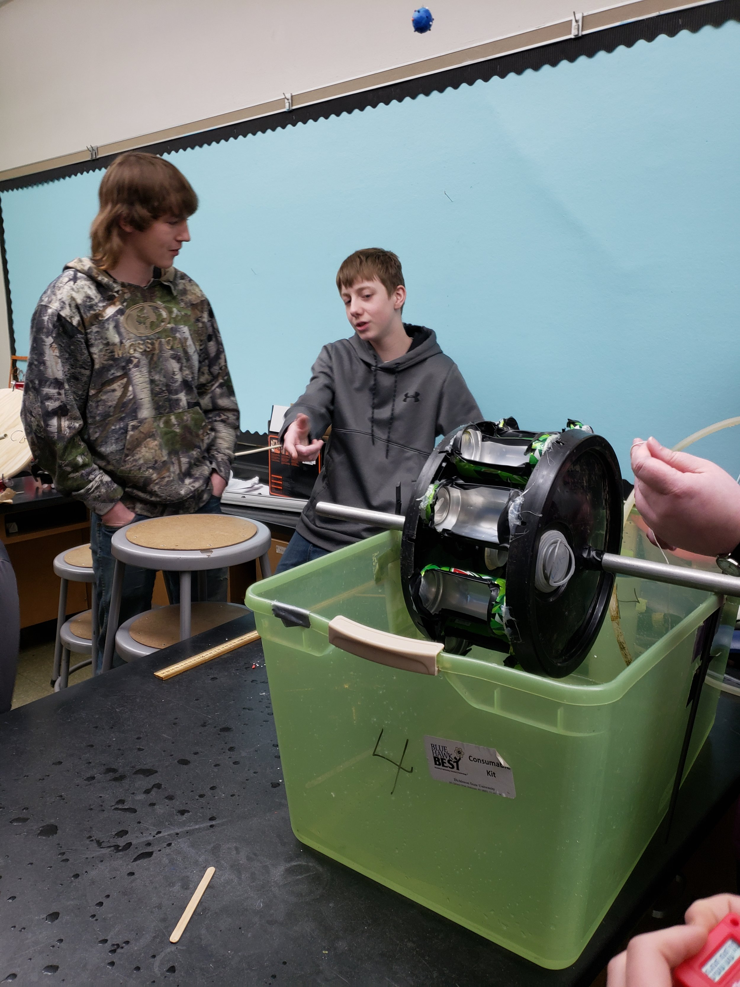 8th Grade Water Wheels