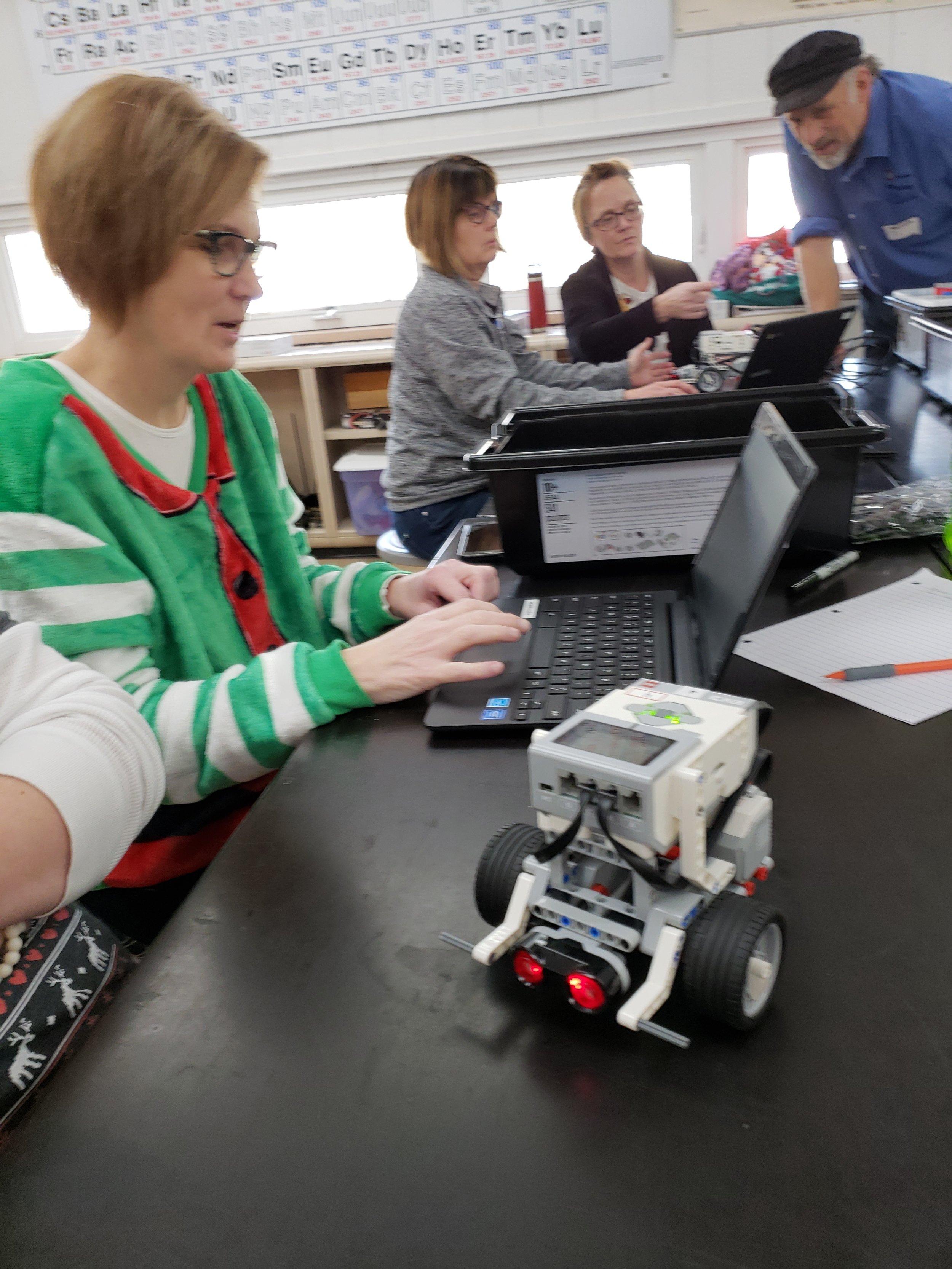 Teacher Lego Robotics Training