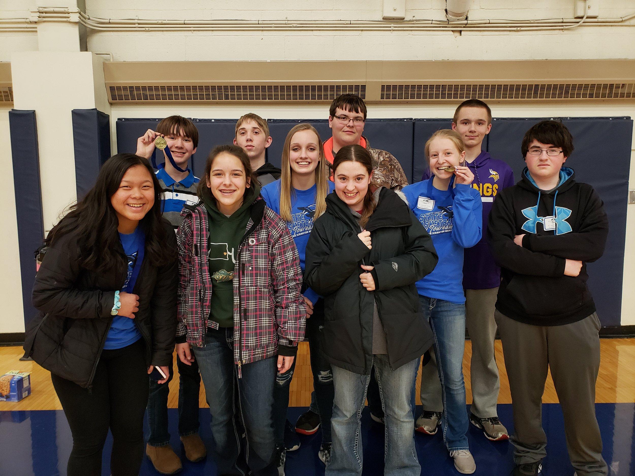 Freshmen Science O Team - State Bound 2019