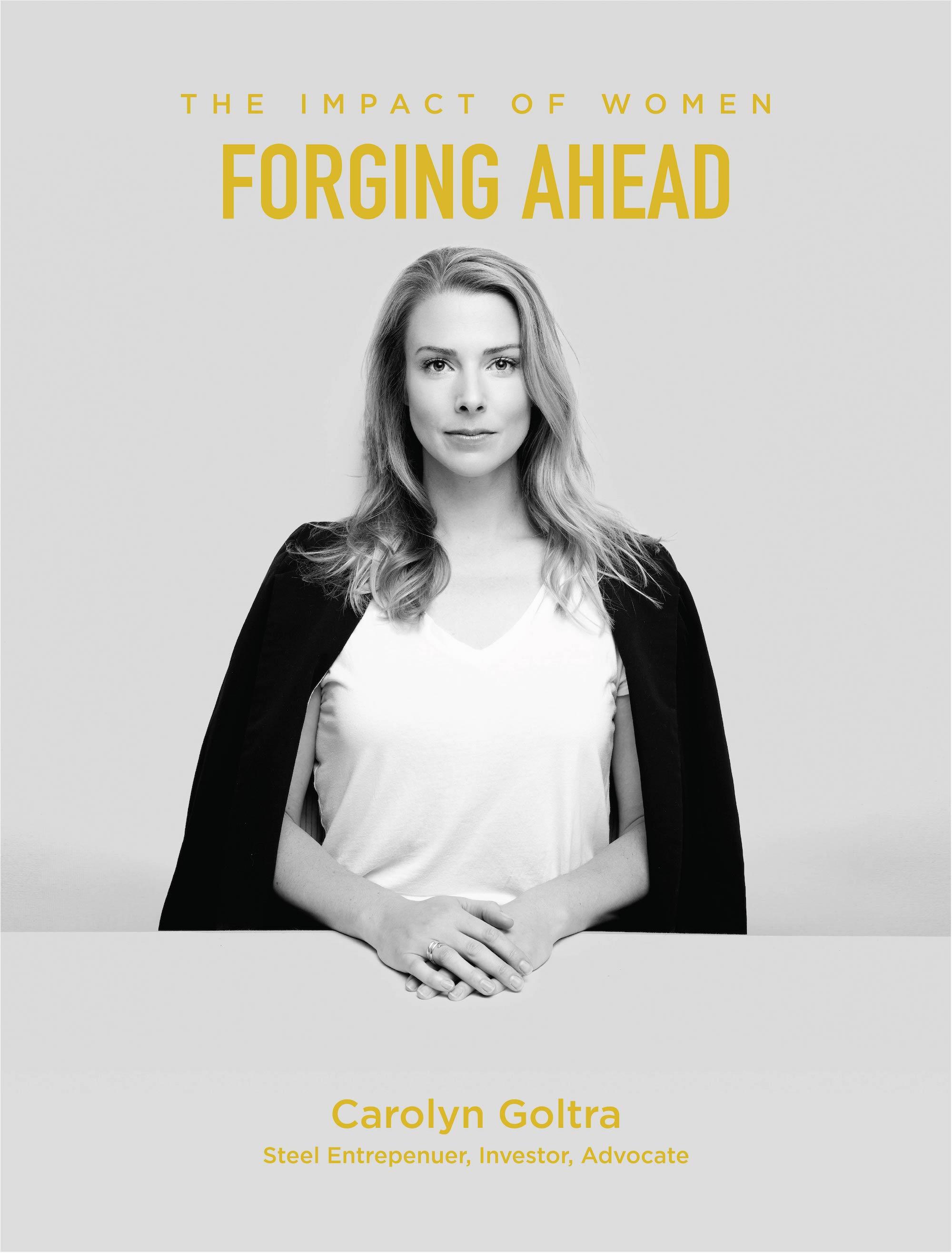 Carolyn Goltra is Forging Ahead
