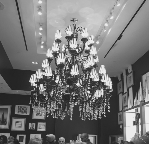 Henri Bendel chandelier
