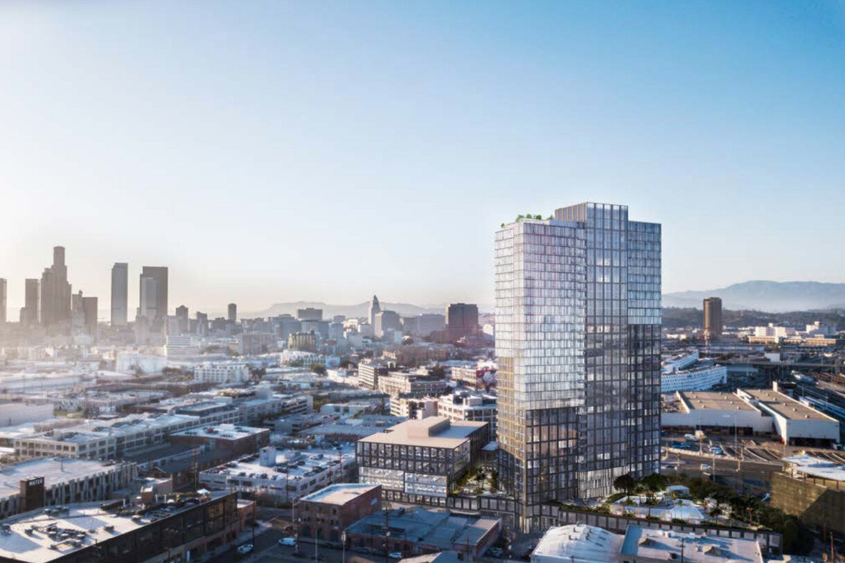 Planning Commission signs off on much taller tower for 520 Mateo in Arts District - Developer Carmel Partners is making a drastic change to its Arts District project dubbed 520 Mateo: It's now plotting a 35-story high-rise, rather than a 13-story tower.