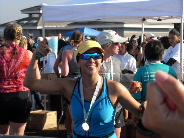Mission Bay Women's Sprint Triathlon, 2008