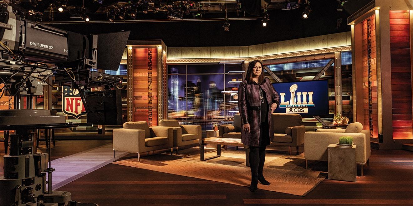 Jo Ann Ross - President of CBS for AdWeek - LINK