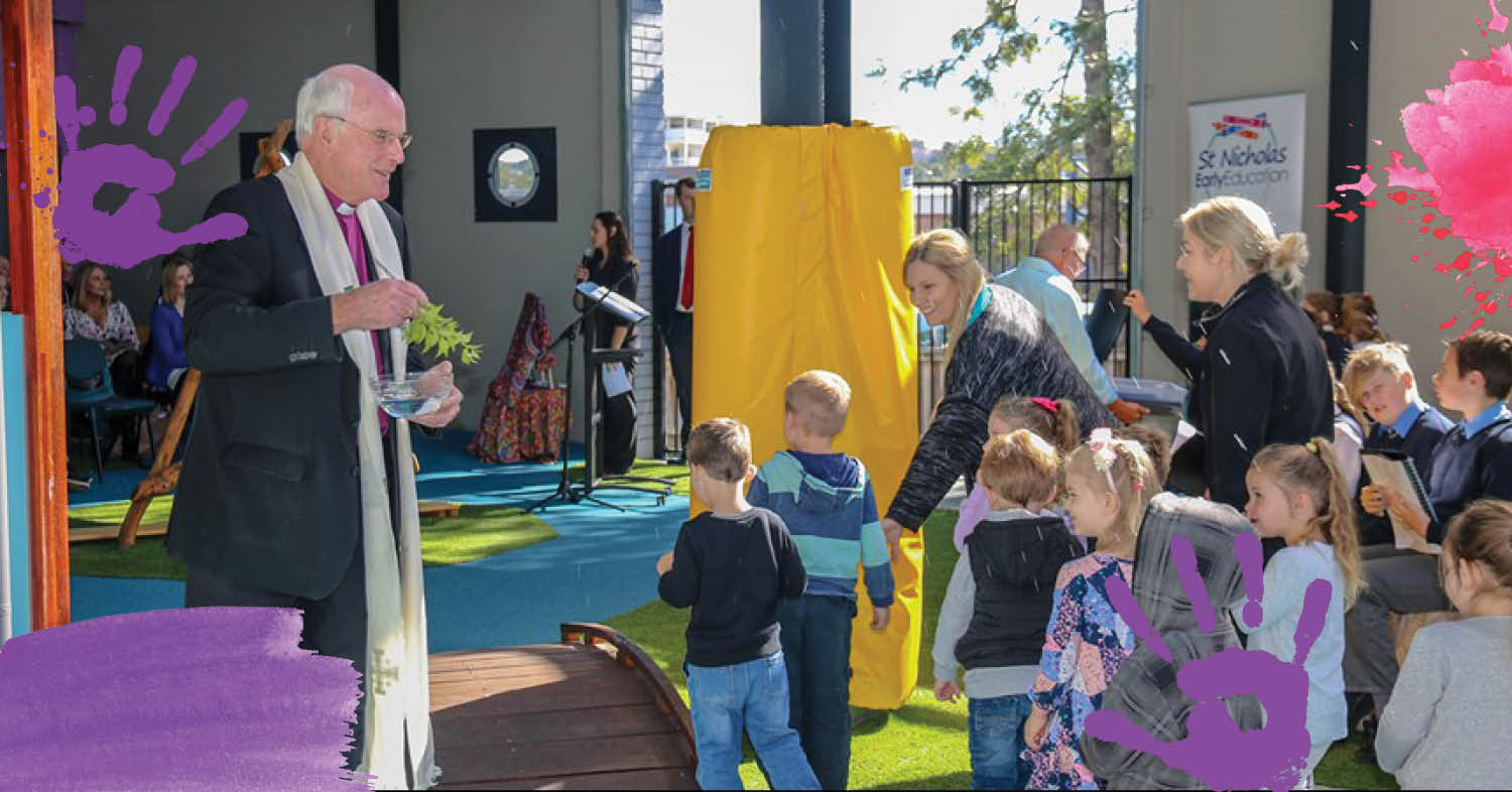 St Nicholas Early Education Cardiff Blessed