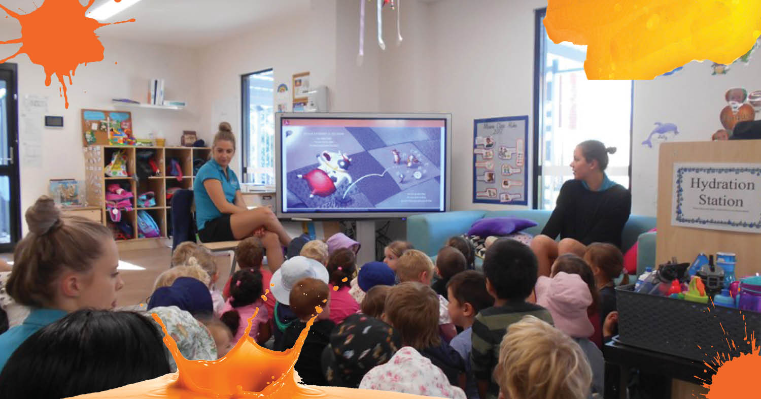 St Nicholas Early Education Newcastle West participates in National Simultaneous Storyime