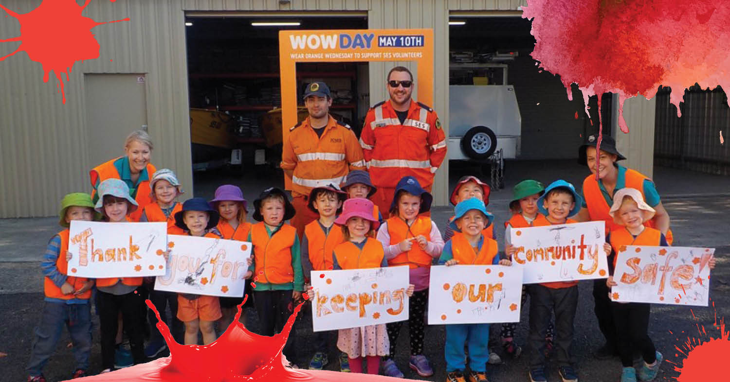 St Nicholas Early Education Singleton says thank you for keeping our community safe