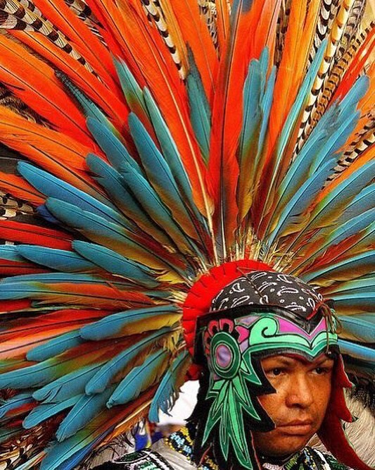 """I NEED  this head peice! Que belleza⠀ ⠀ Indígenas Aztec dancer ⠀ ⠀ Shop our handcrafted luxurious lashes⠀ Reusable up to 25 times! ⠀ Www.vidacosmeticsshop.com⠀ Use code FAMILIA for 20% off⠀ ⠀ Www.facebook.com/shopvidacosmetics⠀ ⠀ Join our text alerts to get alerted on giveaways, sales, restocks, Facebook lives, & much more! ⠀ 🤳🏼text """"@vidalash"""" to 81010⠀ ⠀ ⠀ #lashes #latina #beauty #makeup #mua #abh #maquillaje #maquiagem #anastasiabeverlyhills #glow #vidacosmetics #vida #fiercesociety #wakeupandmakeup #motd #latinaowned #womanowned #ojos #makeupmafia #makeupartist #morphebabe #vidabeauty #eyelashes #makeuplookoftheday #makeupjunkie #makeuplover #makeupaddicts #LatinAmerica #latinx #latinas ⠀"""
