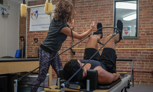Pilates Studio Session - Personal Training Session using the Pilates Reformer, Trapeze Table, and other toys.Single Session - $80 5 Sessions - $350 (20% discount)