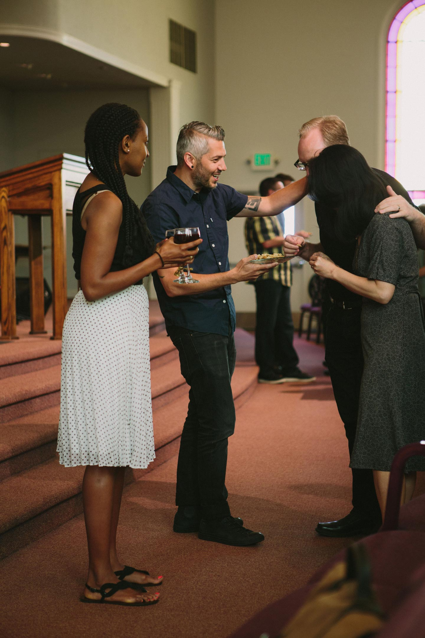 Liturgy - From the moment you step through the doors at Trinity Church, we want you to encounter the beautiful gospel of Jesus Christ. That's why each section of our services are designed to move you closer and closer to our Savior's cross.Sunday mornings begin with a call to worship which build into a reflective time of confession and pardon. To hear how God speaks into our lives, we turn to his word through the sermon followed by a time of corporate, covenant renewal where we together declare the essentials of our Christian faith and take the Lord's Supper.We end our services with a response of praise and by receiving again God's good blessings for his people. These times together serves to remind us that God has made sinners like us, saints called to be like him. That is why Sunday mornings at Trinity are, and will always be, about the gospel.