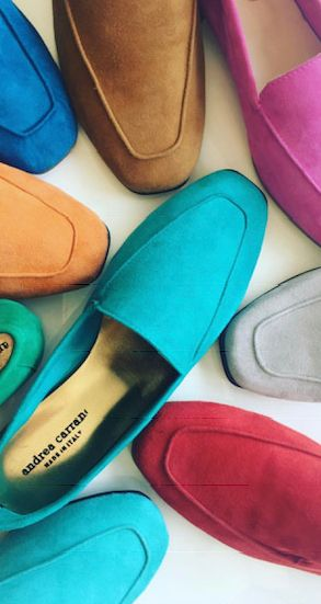 """ANDREA CARRANO - Considered one of the most prestigious names in Italian shoe design, Andrea Carrano is the dream of La Dolce Vita against the reality of our everyday lives. Andrea Carrano has enveloped """"Made in Italy"""" with hands of craftspeople weaving, sewing, cutting, and creating authentic pieces of clothes and accessories that connect us to them; to a legacy that has always been the very definition of luxury.Andrea Carrano gives us access to this world through their iconic line of shoes which have been the chosen favorites of first the women of Rome, then the Hollywood royalty, followed by discerning women around the world who appreciate fashion, time honored styling and functionality.A generational brand experience that is still relevant over fifty years since the first pair of Andrea Carrano shoes walked the Via Veneto. Each shoe is created and made with a modern woman in mind; as her life has changed so has Andrea Carrano.Today, the women who wear Andrea Carrano may be dashing to the market in her """"Baby"""" ballet flats, or entering a board meeting in a pair of """"Jessica"""" pumps. For the long awaited weekend, she can't wait to slip on her """"Mocassino's."""" Where ever she goes, whatever she does, Andrea Carrano is her shoe of choice.Visit andreacarrano.com for the full collection."""