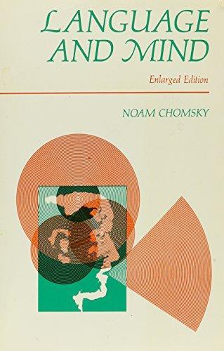 Language and Mind,  Noam Chomsky (1968)