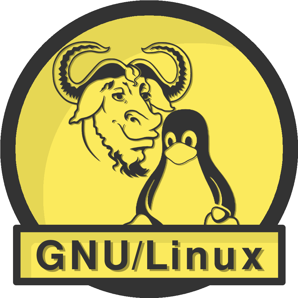 BUILT EXCLUSIVELY ON GNU/Linux!    RUN FREE! RUN GNU!