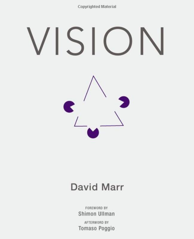 Vision , David Marr (1982)